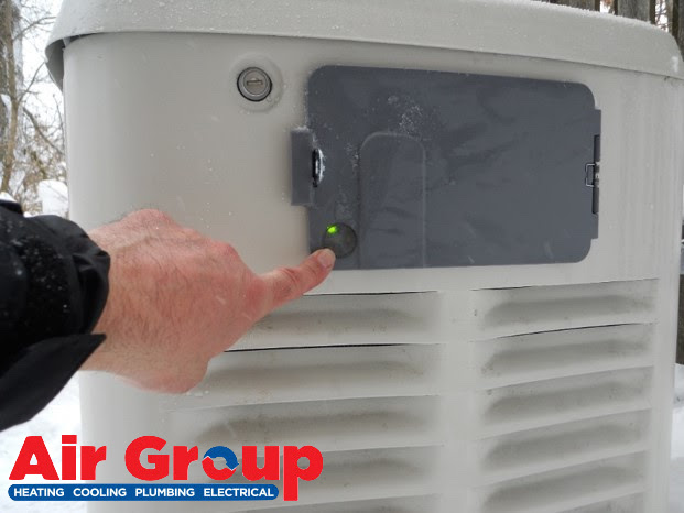 Please Clear The Snow On and Around Your Generator!