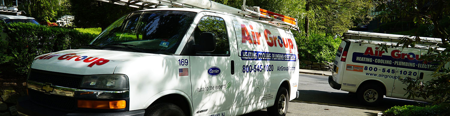 Air Group Vans at Oil to Gas Job